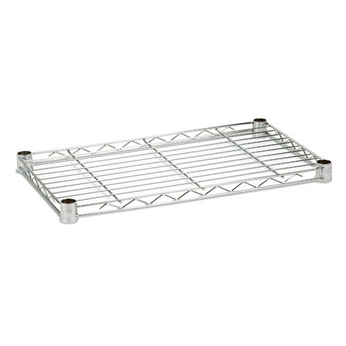 "Honey Can Do 18"" W x 48"" D Steel Shelf"