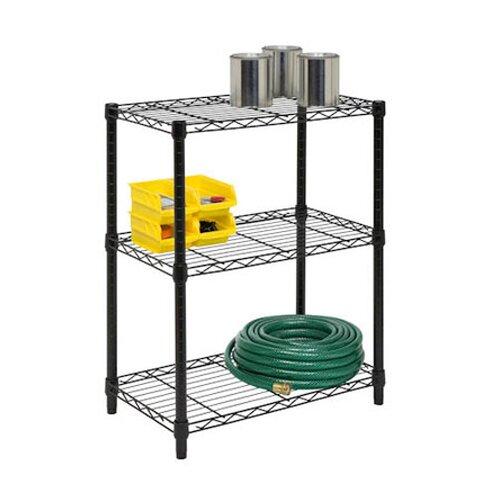 """Honey Can Do 30"""" H 3 Shelf Shelving Unit Starter"""