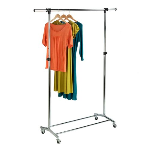 Honey Can Do Garment Rack in Chrome