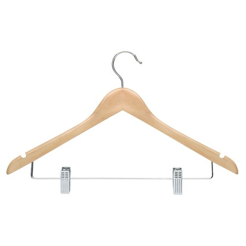 Honey Can Do Basic Suit Hanger With Clips