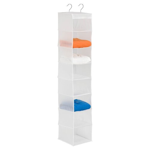 Honey Can Do 8 Shelf Hanging Organizer in White