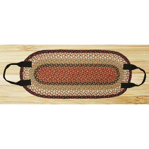 Burgundy/Mustard Log Carrier