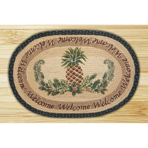 Pineapple/Welcome Rug