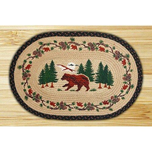 Bear Woods Novelty Rug