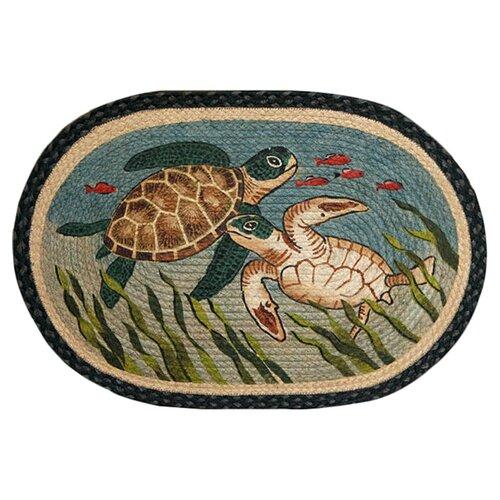 Turtle Novelty Rug