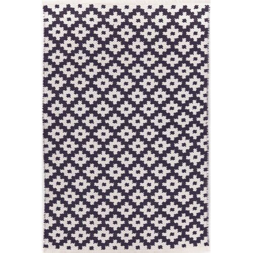 Dash And Albert Rugs Samode Navy White Indoor Outdoor Area Rug