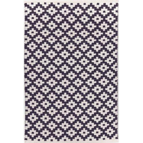 Dash and albert rugs samode navy white indoor outdoor area rug for Albert and dash outdoor rugs