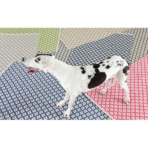 Dash And Albert Rugs Samode Navy White Indoor Outdoor Area