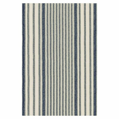 Woven Mattress Ticking Rug