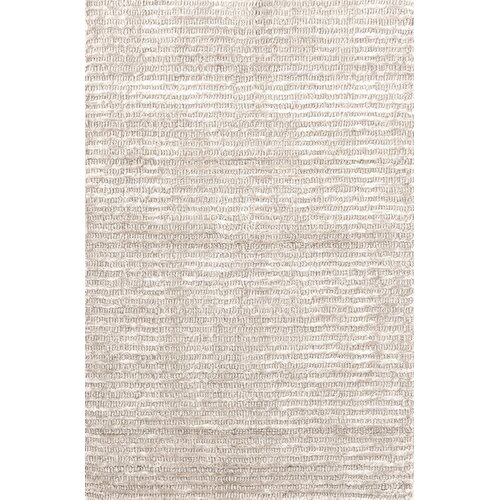 Dash and Albert Rugs Cut Stripe Ivory Rug