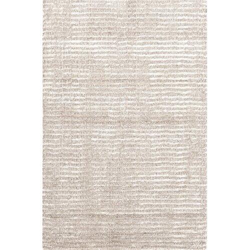 Dash and Albert Rugs Cut Stripe Ivory Rug