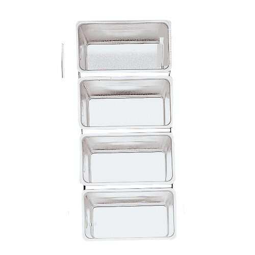 Fox Run Craftsmen Linked Bread Pans (Set of 4)