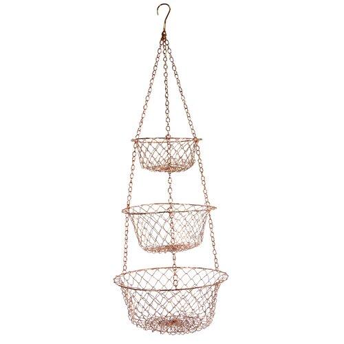 Copper Hanging Baskets