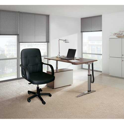 Hazelwood Home High-Back Office Chair with Arms