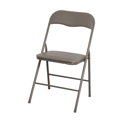 Hazelwood Home Foam Folding Chair (Set of 2)