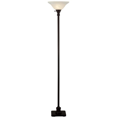 Hazelwood Home Torchiere Floor Lamp