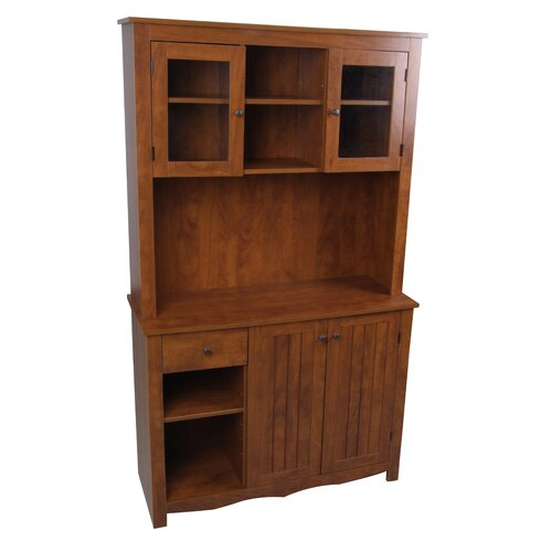 Hazelwood Home Oak Hills China Cabinet