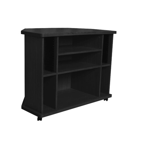 "Hazelwood Home 35"" Corner TV Stand"