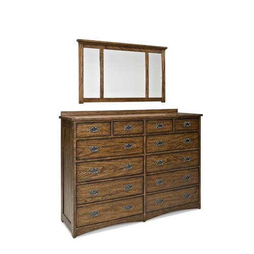 Imagio Home by Intercon Oakhurst Rectangular Dresser Mirror