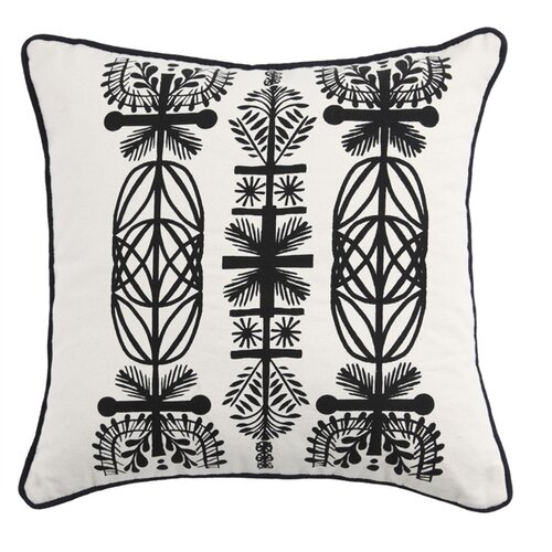 Kreme LLC Screen Print Branches Pillow