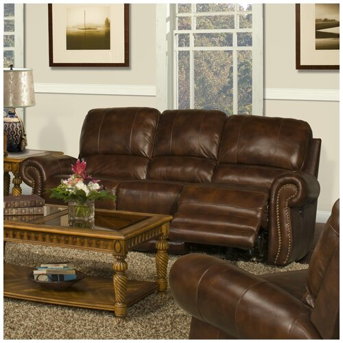 Thor Leather Reclining Sofa