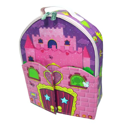 ZipBin Doll House Back Pack PlayPack