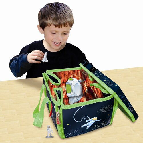 ZipBin Mini Space Play Set