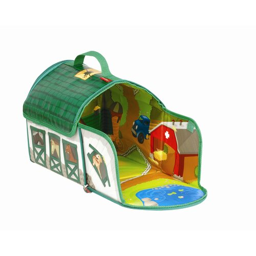ZipBin Farmland™ Country Stable Day Tote & Playset