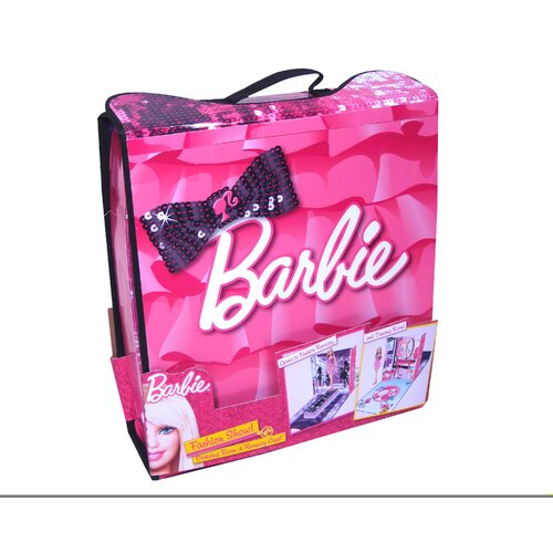 Barbie Fashion Show Dressing Room and Runway Case