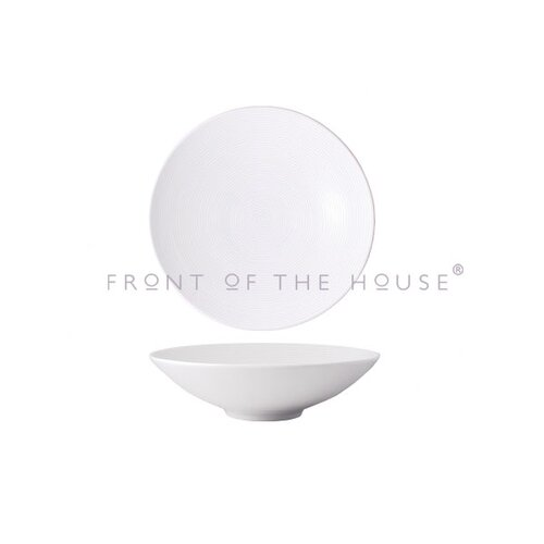 Front Of The House Spiral 80 oz. Wide Bowl