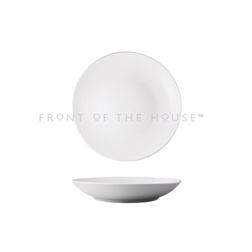 Front Of The House Spiral 58 oz. Low Bowl