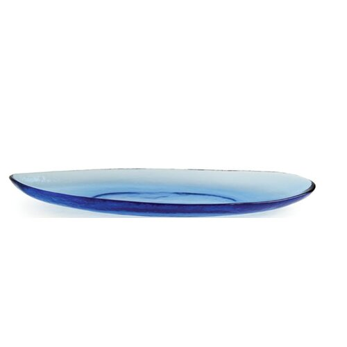 "Front Of The House Kaleidoscope 19.25"" Canoe Dish"