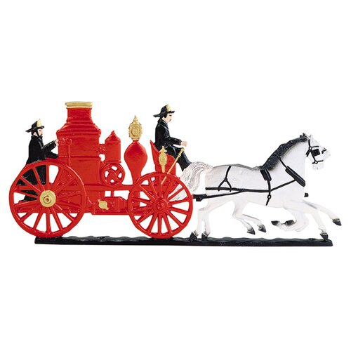 Whitehall Products Fire Engine Mailbox Ornament