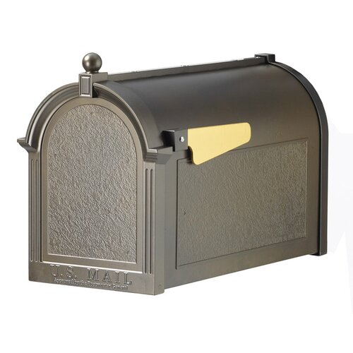 Streetside Post-Mounted Mailbox