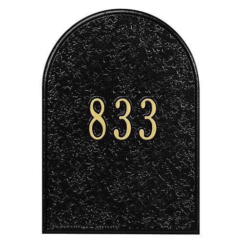 Whitehall Products Personalized Mailbox Door Panel