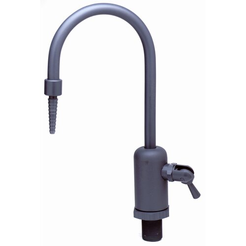 Laboratory Faucet with Dual Control Handle