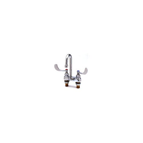 T&S Brass Centerset Medical Bathroom Faucet with Cold and Hot Handles