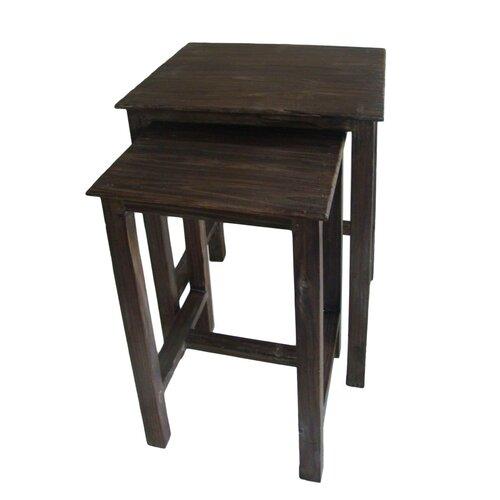 Shabby 2 Piece Nesting Tables