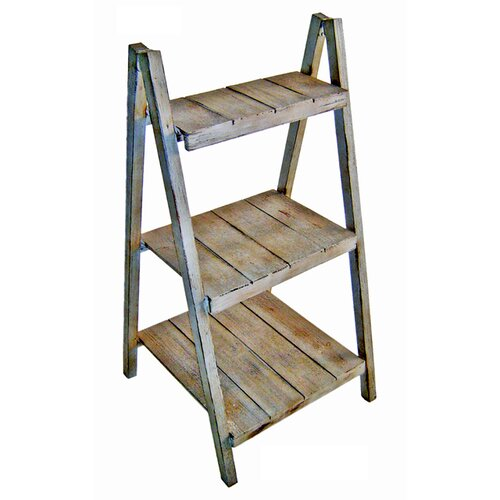 3 Tiers Folding Step Shelf