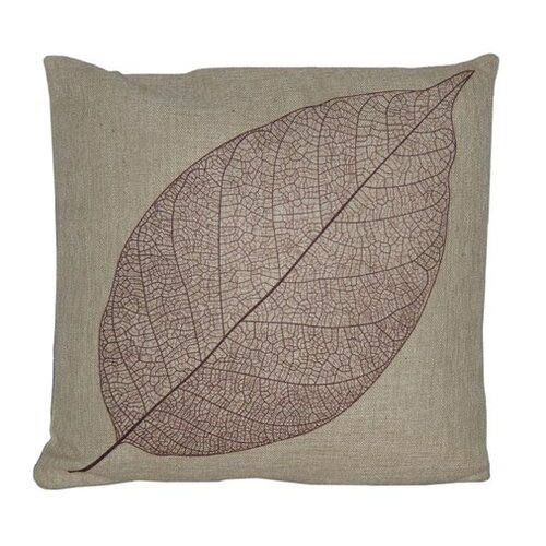 Cheungs Leaf Linen Pillow