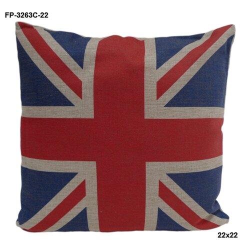 Cheungs Union Jack Linen Pillow