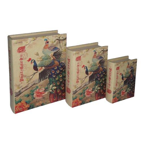 Cheungs Peacock Book Box