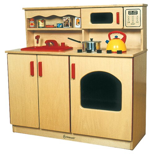 A+ Child Supply 4-in-1 Kitchen Center