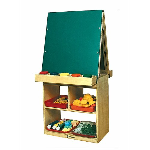 A+ Child Supply 2 Station Easel