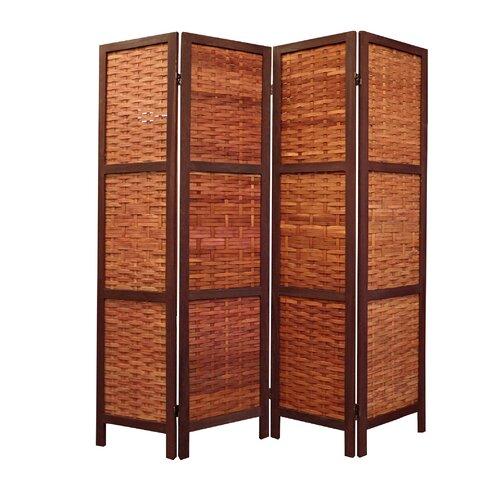 Proman 67 X 61 Saigon Folding Screen 4 Panel Room Divider Reviews Wayfair