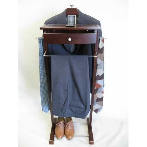 Proman Products Kingston III Wardrobe Valet Stand