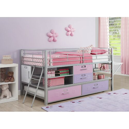 Dhp Junior Twin Locker Loft Bed Reviews Wayfair Supply
