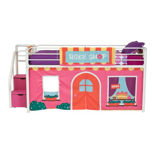 DHP Bakeshop Curtain Set for Junior Loft Bed