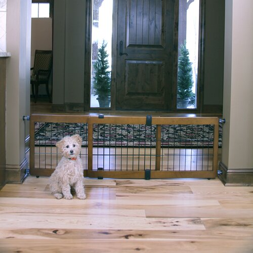 Design Studio 2-in-1 Free Standing Pet Gate