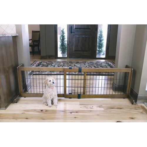 Carlson Pet Products Design Studio 2-in-1 Free Standing Pet Gate